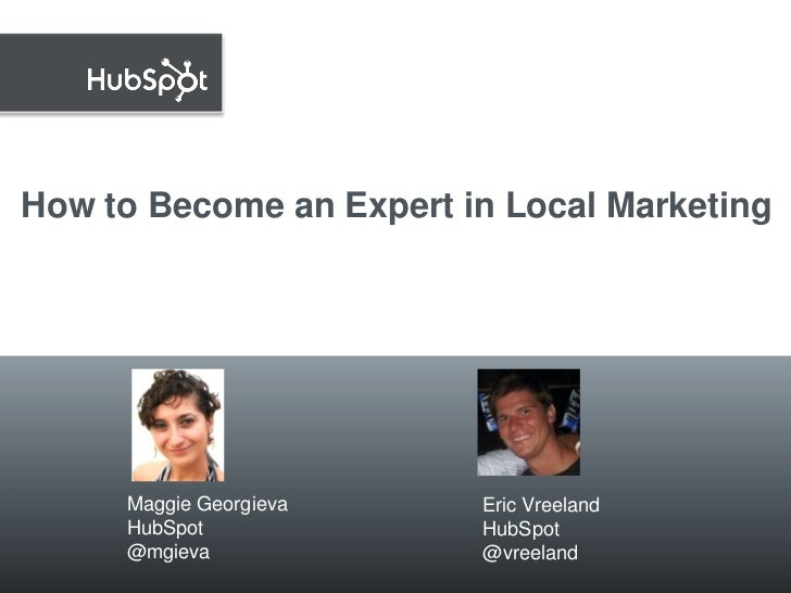 Become an Expert in Local Marketing