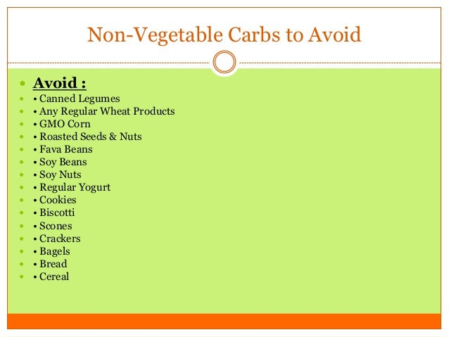 Starchy Vegetables List