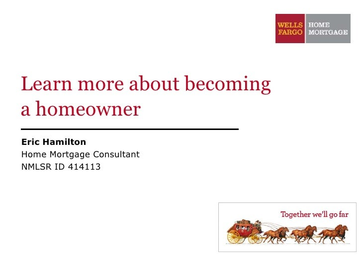 Learn more about becominga homeownerEric HamiltonHome Mortgage ConsultantNMLSR ID 414113