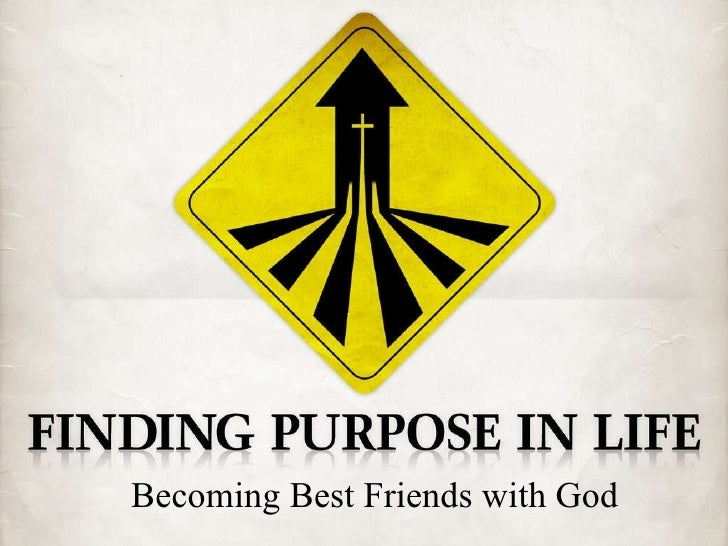 Becoming  Best Friends With  God
