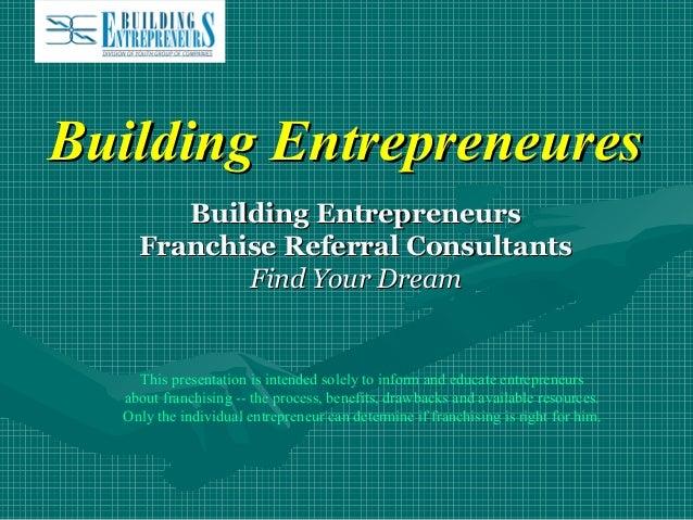 Building Entreprenures