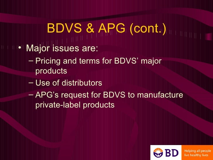 becton dickinson co vacutainer systems Key decision maker: william kozy national sales director for becton dickson vacutainer systems (bdvs) vice president of marketing and sales bdvs.
