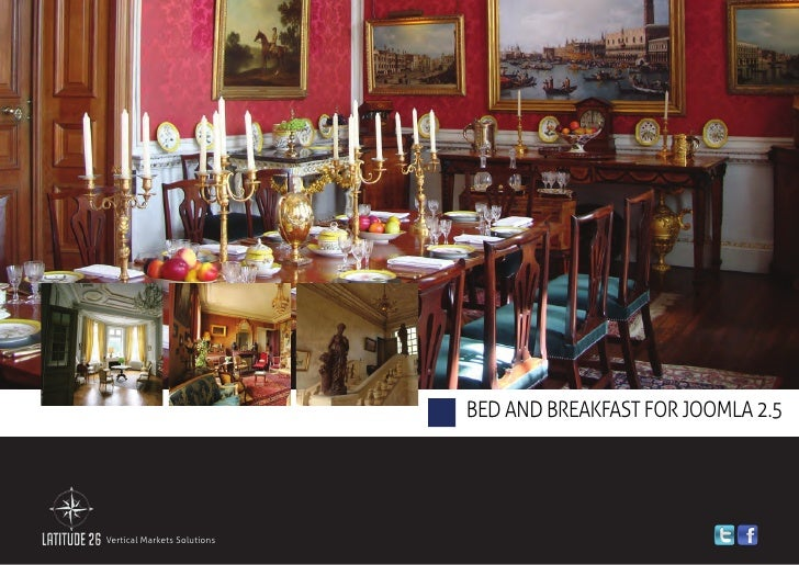 Bed And Breakfast for joomla 2.5Vertical Markets Solutions