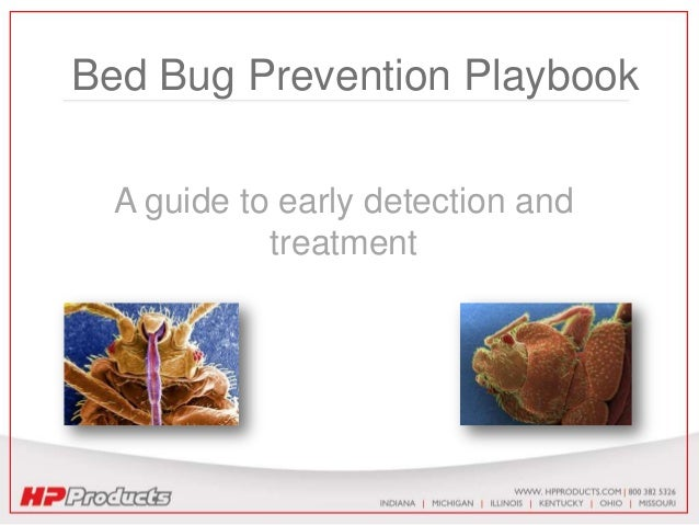 Bed Bug Prevention Playbook