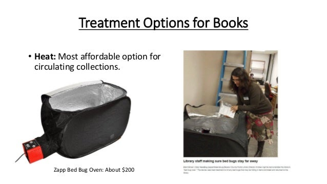 Bed Bugs Books In Oven