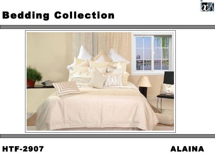 Bedding CollectionHTF-2907             ALAINA