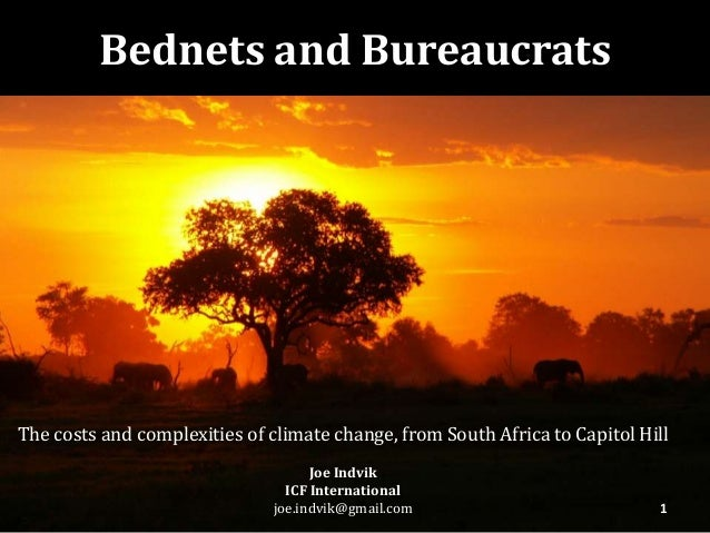 The costs and complexities of climate change, from South Africa to Capitol HillJoe IndvikICF Internationaljoe.indvik@gmail...
