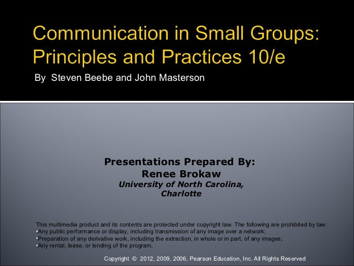 Introducing Group and Team Principles and Practices