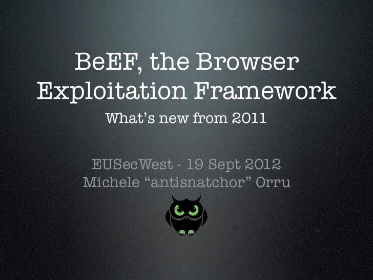 BeEF_EUSecWest-2012_Michele-Orru