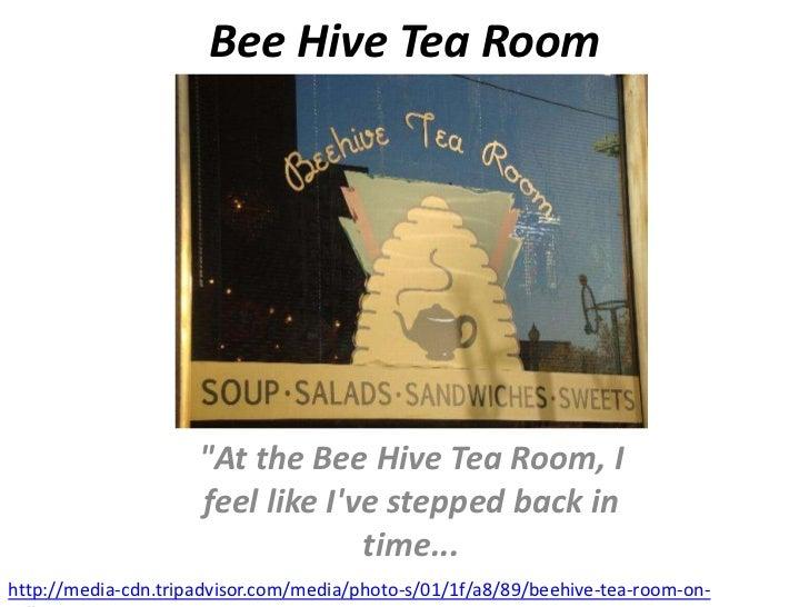 Beehive tearoom
