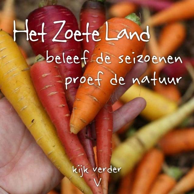 Beeldenboek Het Zoete Land