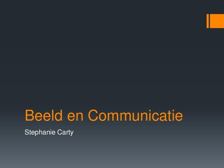 Beeld en CommunicatieStephanie Carty