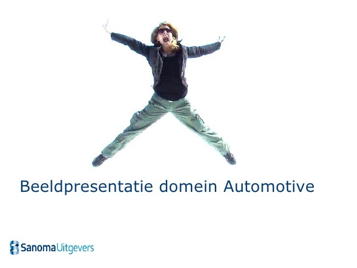 Beeldpresentatie domein Automotive