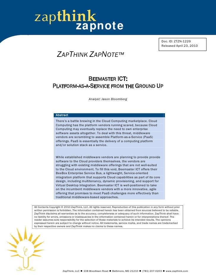 Beemaster ict zapnote-042010-ztzn-1229-1
