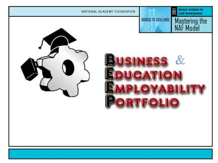 Business an d Education Employability Portfolio