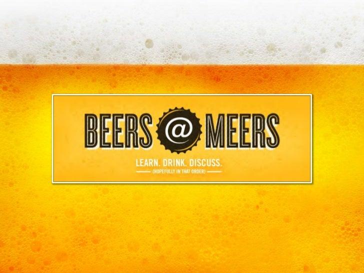 Beers @ Meers: 2011 Cheers @ Meers