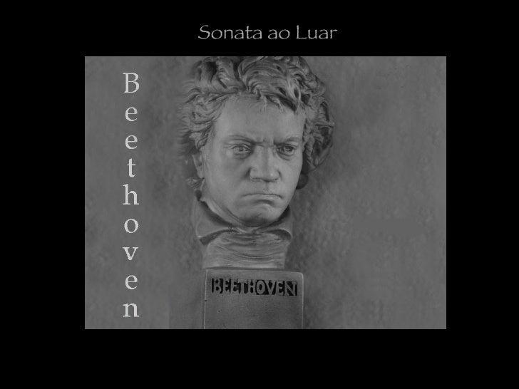 Beethoven e a sonata ao luar