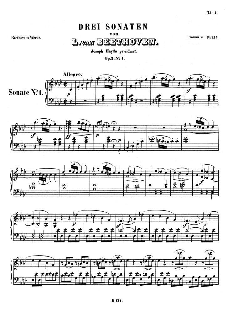 L.V. Beethoven - Piano Sonata No.1, Op.2 No.1 I. allegro