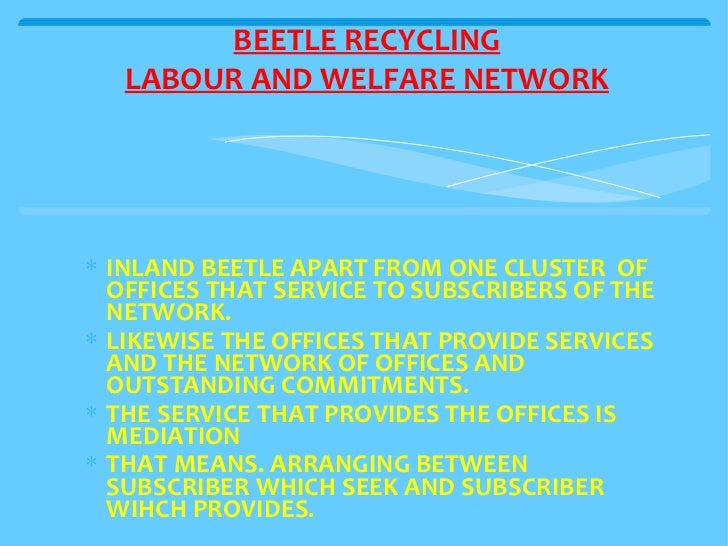 <ul><li>INLAND BEETLE APART FROM ONE CLUSTER  OF OFFICES THAT SERVICE TO SUBSCRIBERS OF THE NETWORK. </li></ul><ul><li>LIK...