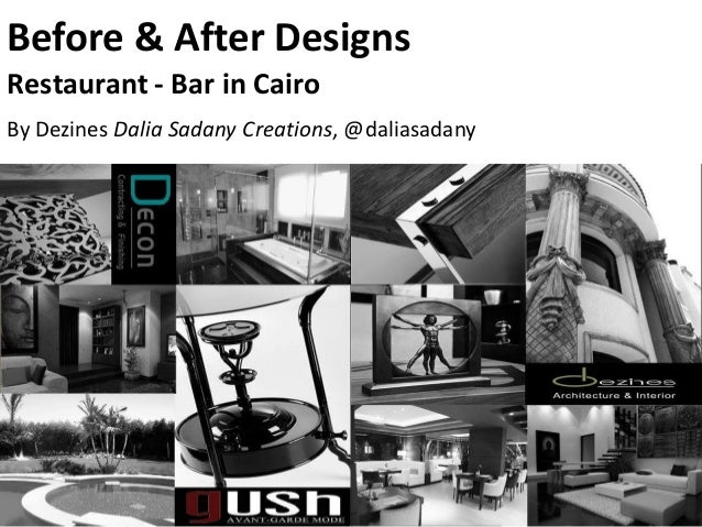 Before & After Counter Bar Design