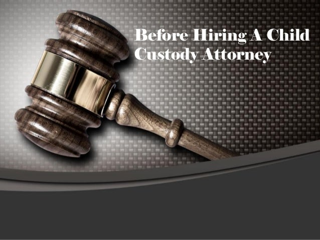 3 Points To Care For A Child Custody Attorney