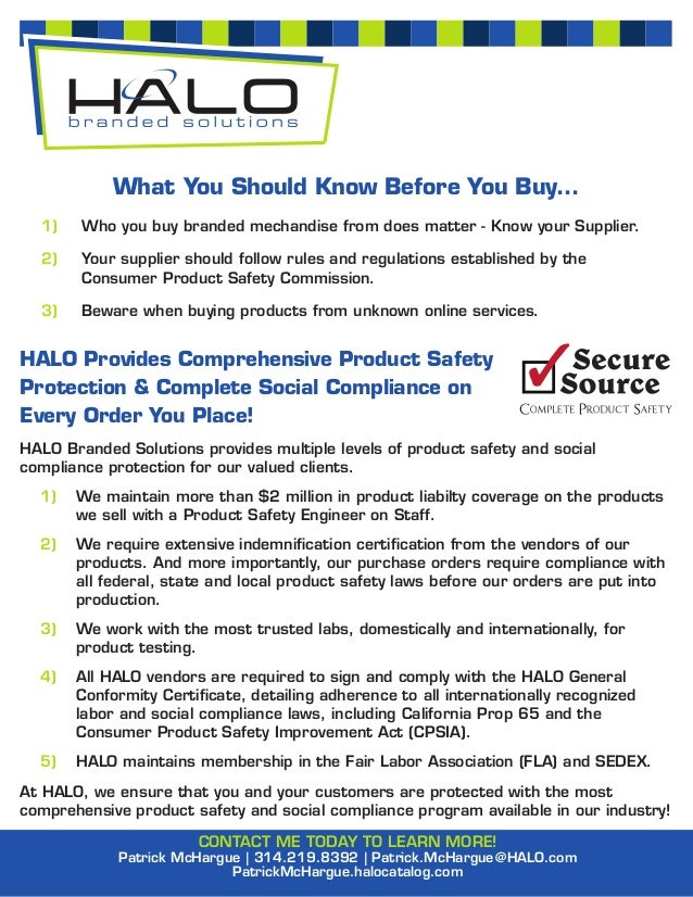 What You Should Know Before You Buy...  1)    Who you buy branded mechandise from does matter - Know your Supplier.  2)   ...