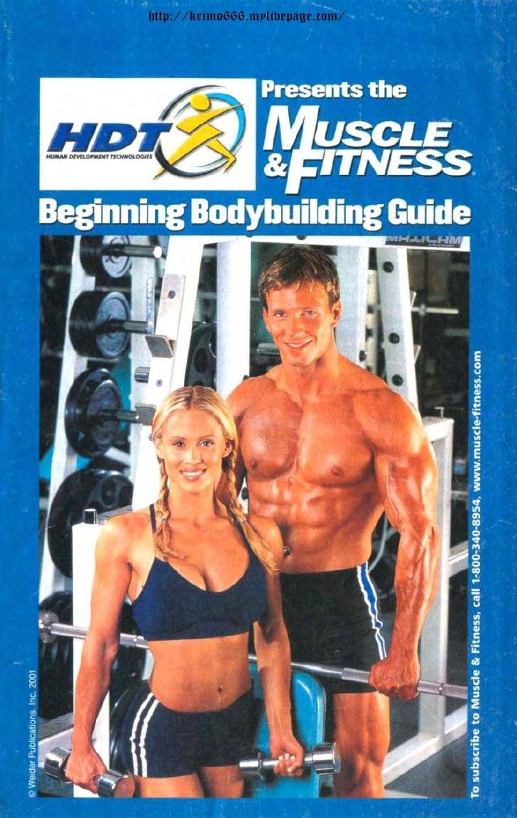 Beggining Bodybuilding Guide