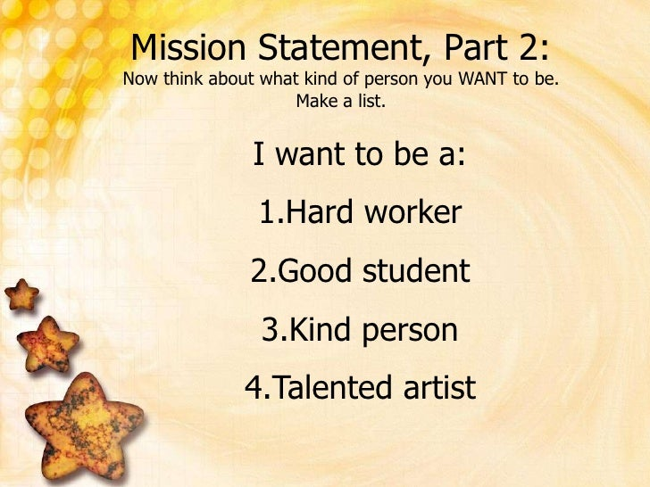Mission Statement Videos For Kids