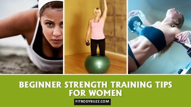 Beginner Strength Training Tips for Women