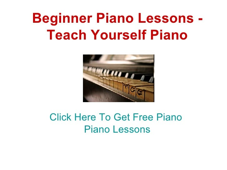 How to teach piano beginner pieces