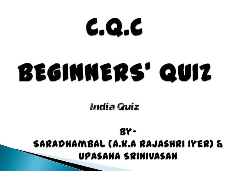Beginners   india