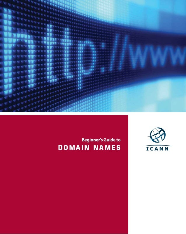 Beginners guide to domain names