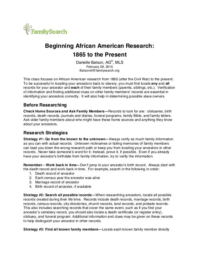 American history research paper topics