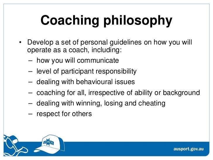 soccer personal coaching philosophy paper Personal best while having make sure they understand your coaching philosophy and it is a good idea to have paper copies of the practice schedule and game.