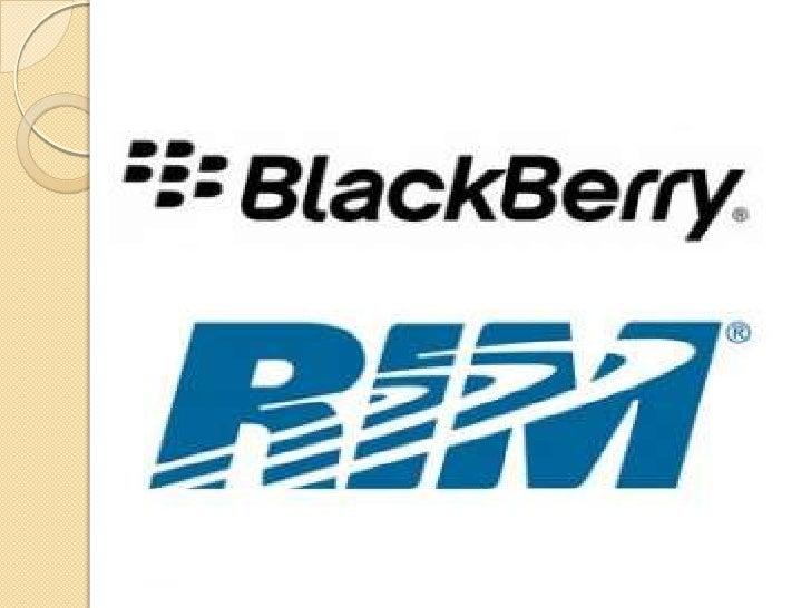 Beginning of black berry technology