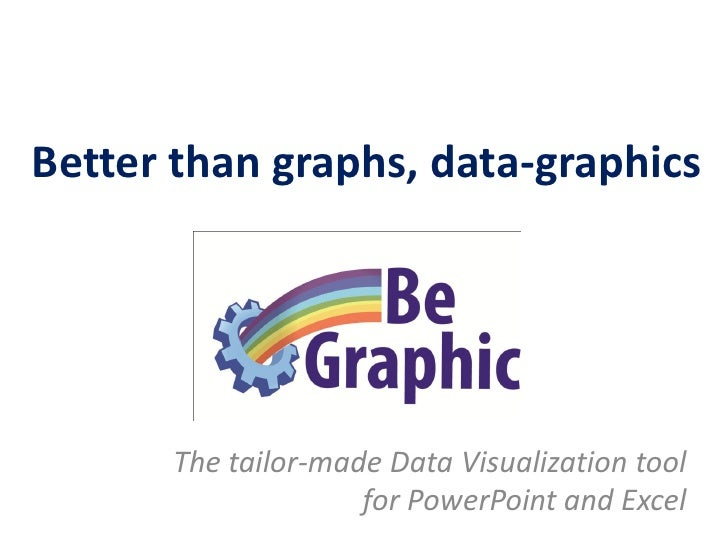 Better than graphs, Info-graphics             The ultimate Data Visualization tool                    for PowerPoint and E...