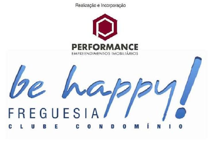 BE HAPPY PRÉ-LANÇAMENTO RESIDENCIAL FREGUESIA
