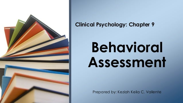 clinical assessment in psychology pdf
