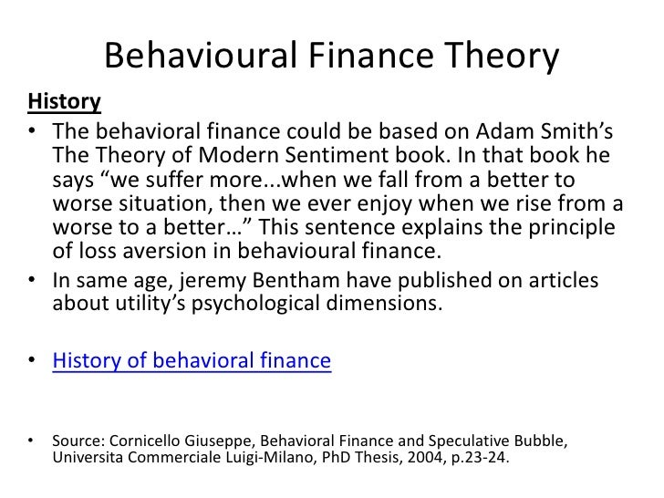 behavioral finance in herd behavior essay Chapter 12 behavioral finance and technical analysis true/false f 1 behavioral finance asserts that emotional investing produces higher returns t 2 according to behavioral finance, investors often select investment data that.
