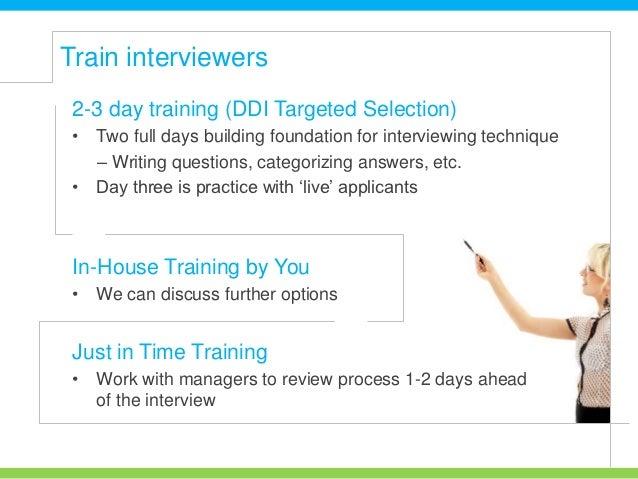 behavioral interview process