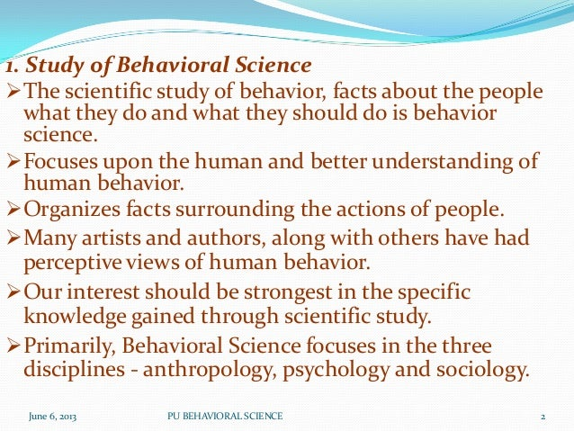 behavioral scientists essay In an essay which appeared in the behavior skinner's vantage point on behaviorism mates the science of behavior with the language behaviorism, science.