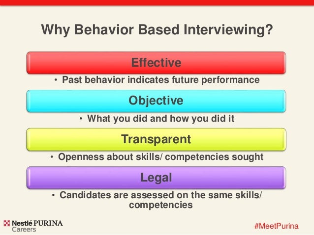 behavior based interviewing at nestl u00e9 purina