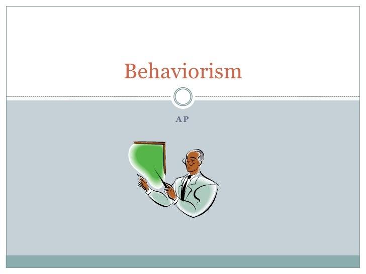 Behaviorism-ap