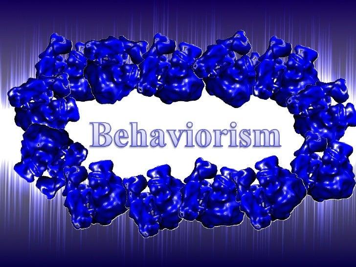Behaviorism(1)