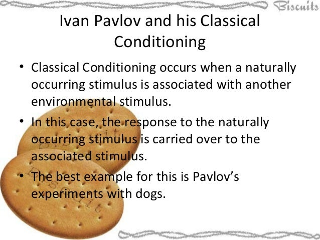Ivan pavlov theory summary