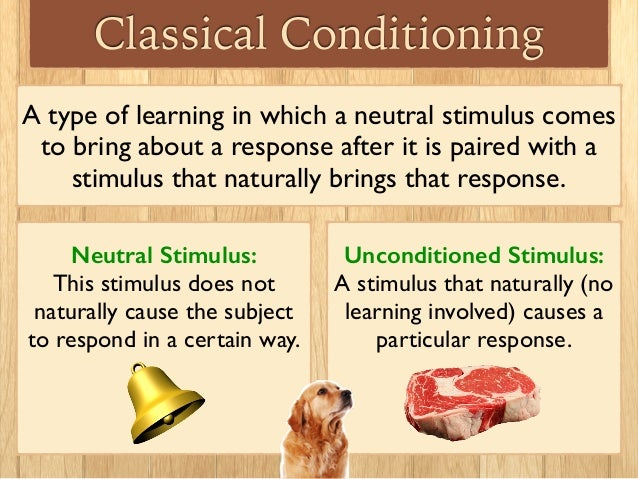 behaviourism classical conditioning and neutral stimulus