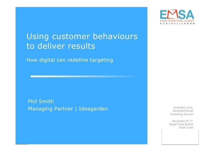 Behavioural Marketing Keynote