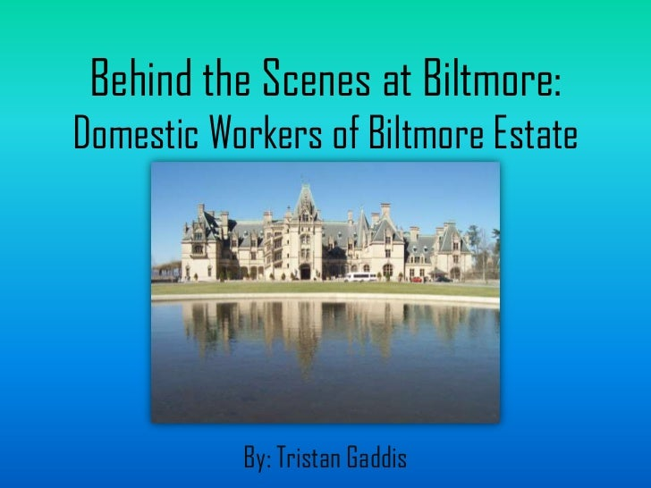 Behind the Scenes at Biltmore: Domestic Workers of Biltmore Estate<br />By: Tristan Gaddis<br />