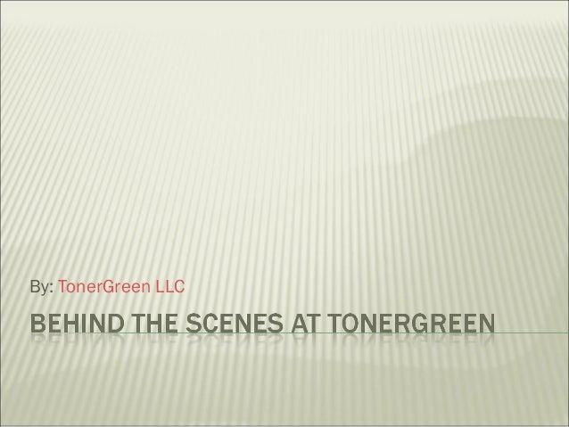 By: TonerGreen LLC