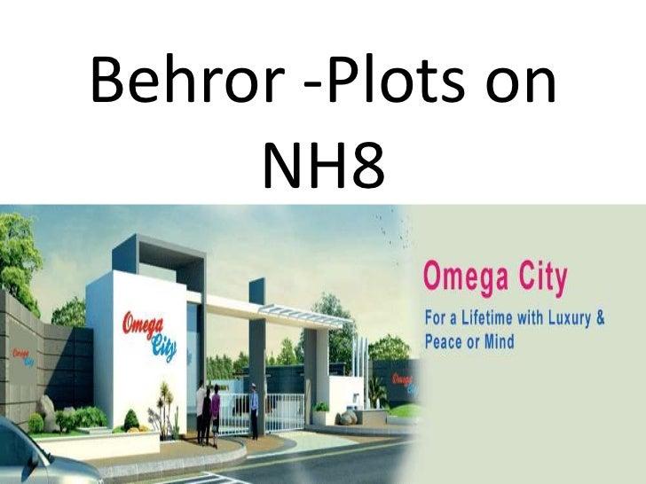 Behror -Plots on     NH8